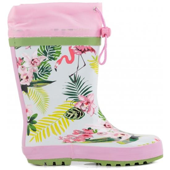 6a509e95d Резиновые сапоги КОТОФЕЙ 566130-11 для девочки цвет розовый рус. размер 30  Изображение 2