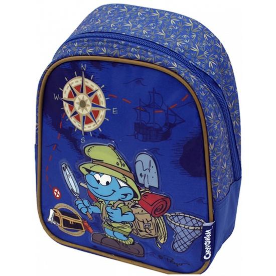 Смурфики рюкзак дошкольный рюкзак с наворотами