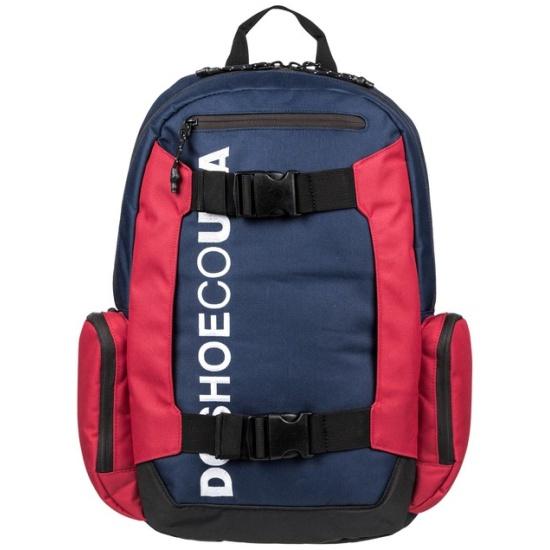 26acc260de97 Рюкзак DC SHOES EDYBP03189-BTL0 CHALKERS мужской, цвет синий/красный -  купить в