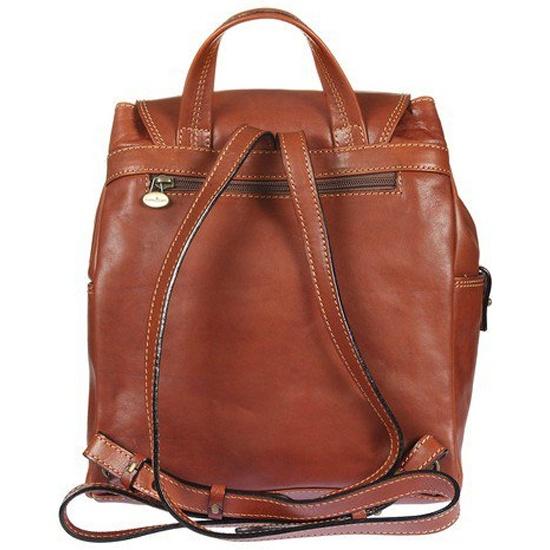 da0f87102088 Рюкзак женский GIANNI CONTI 913159 tan, рыжий Изображение 5 - купить в  интернет магазине с