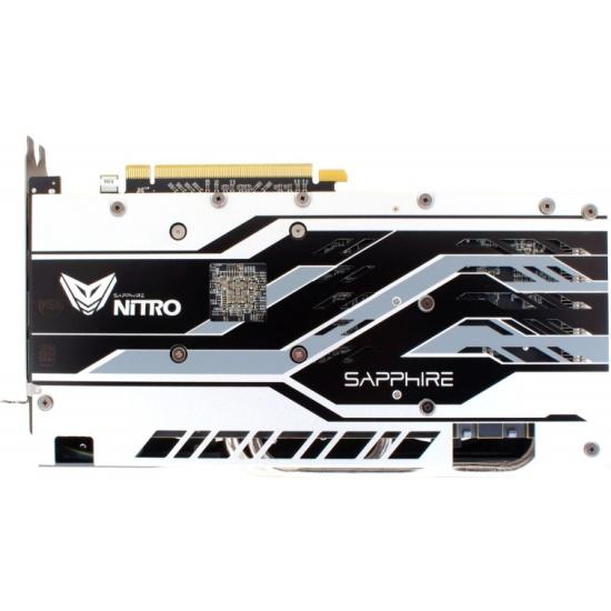 Dual DP Radeon RX 580 4GBGDDR5 PCI-E DUAL HDMI DVI-D Sapphire NITRO