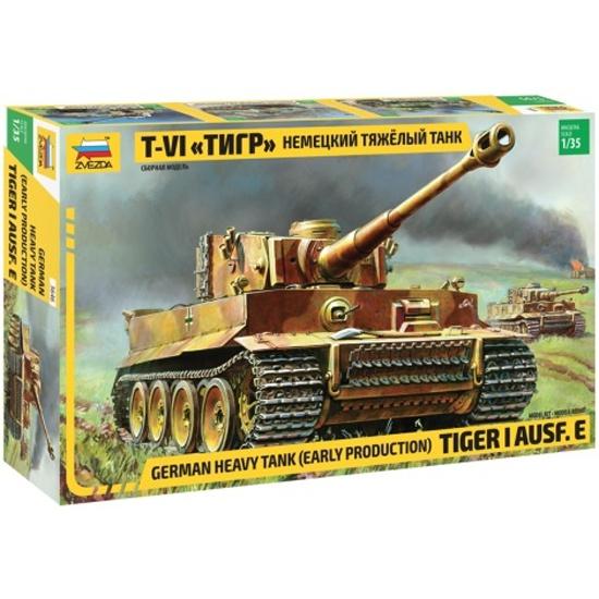 c5a6edc35 Сборная модель ZVEZDA 3646 Немецкий тяжелый танк Т-VI Тигр - купить в  интернет магазине