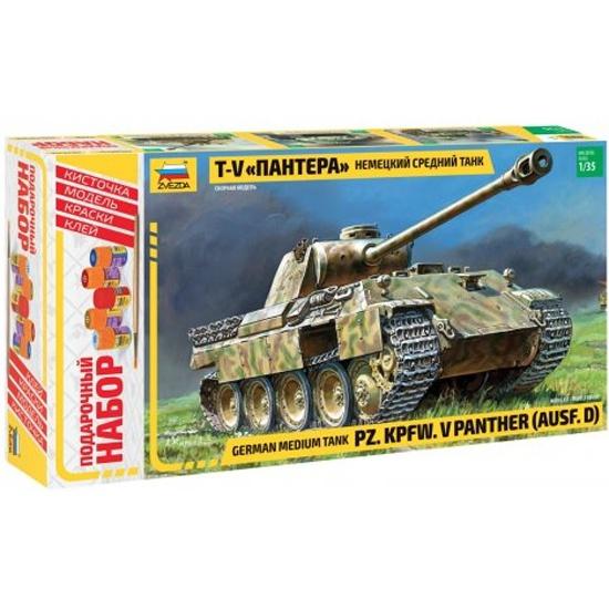 18c4f0c42 Сборная модель ZVEZDA 3678П Немецкий танк Пантера - купить в интернет  магазине с доставкой, цены