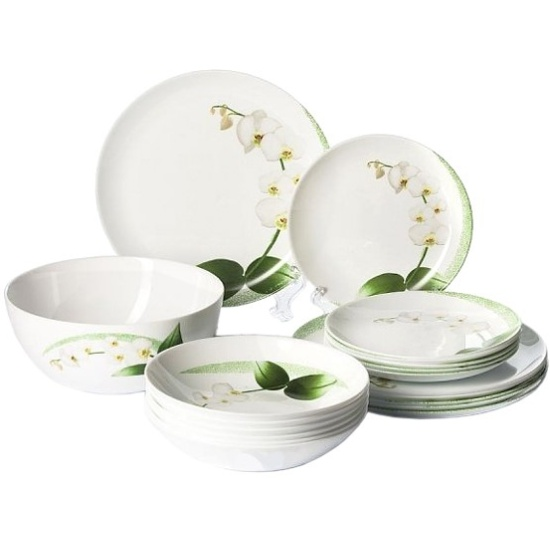 СервиРстоловый LUMINARC Diwali White Orchid, 19 предметов - купить в интернет магаÐине с доставкой, цены, описание, характеристики, отÐывы