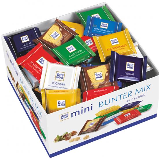Шоколад Ritter Sport мини-ассорти 7 вкусов 4000417048103 - купить по выгодной цене в интернет-магазине ОНЛАЙН ТРЕЙД.РУ Санкт-Петербург
