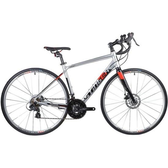 Шоссейный велосипед Stinger 28 Stream Std размер S, серебристый — купить в интернет-магазине ОНЛАЙН ТРЕЙД.РУ