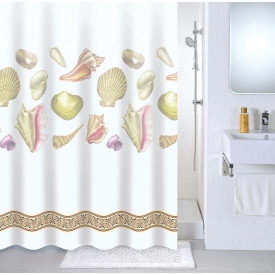 <b>Штора для ванной</b> комнаты <b>Milardo</b> 531V180M11, 180*180 см ...