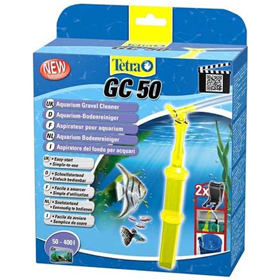Сифон Tetra GC 50 (50-400 л) — купить в интернет-магазине ОНЛАЙН ТРЕЙД.РУ