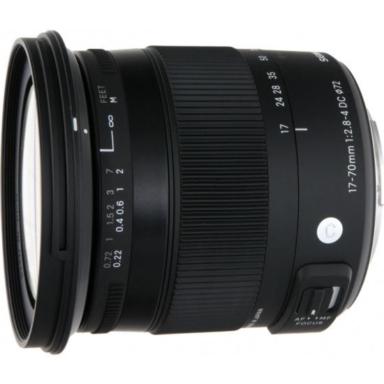 Объектив Sigma AF 17-70mm f/2.8-4 DC MACRO HSM New Sony — купить в интернет-магазине ОНЛАЙН ТРЕЙД.РУ