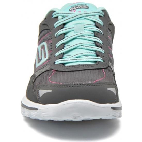 Кроссовки Skechers GO WALK 2 - FLASH13960 женские, цвет серый голубой, рус. ef6f5c343e7