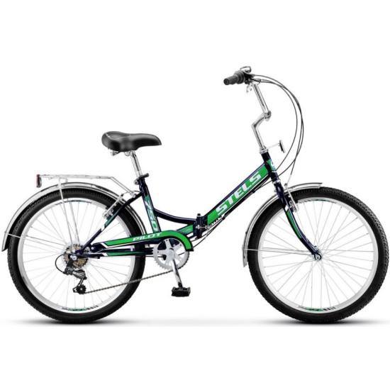 Складной велосипед Stels Pilot-750 24 Z010 2019, зеленый, рама 16 LU081474 - купить по выгодной цене в интернет-магазине ОНЛАЙН ТРЕЙД.РУ Санкт-Петербург
