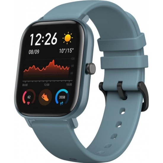 Смарт-часы Xiaomi Amazfit GTS, Steel Blue — купить в интернет-магазине ОНЛАЙН ТРЕЙД.РУ
