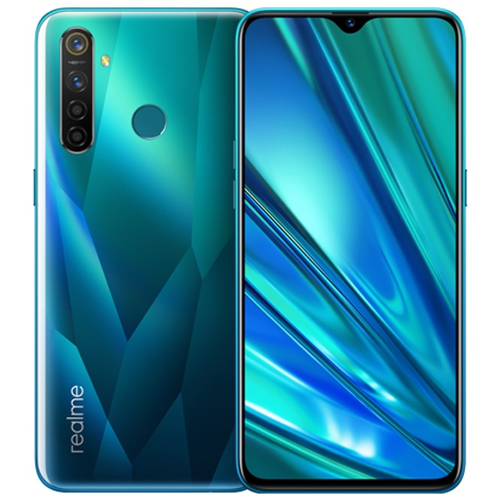 Смартфон realme 5 Pro 128GB зеленый кристалл 5968954 - низкая цена, доставка или самовывоз по Краснодару. Смартфон realme 5 Pro 128GB зеленый кристалл купить в интернет магазине ОНЛАЙН ТРЕЙД.РУ