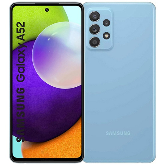 Смартфон Samsung Galaxy A52 128GB Синий — купить в интернет-магазине ОНЛАЙН ТРЕЙД.РУ