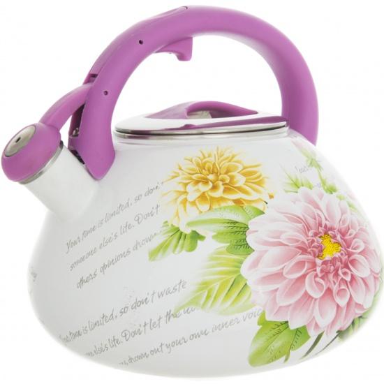 Чайник со свистком Чудесница ЭЧ-3503 эмалированный, 3,5л- купить по выгодной цене в интернет-магазине ОНЛАЙН ТРЕЙД.РУ Орёл