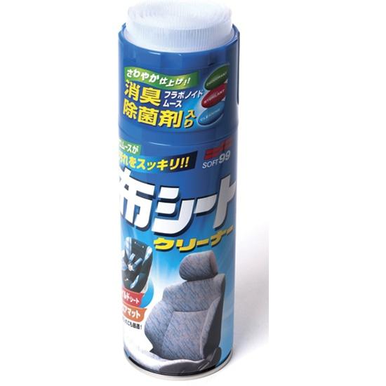 Очиститель интерьера Soft99 Fabric Cleaner Spray 400 мл - фото 2