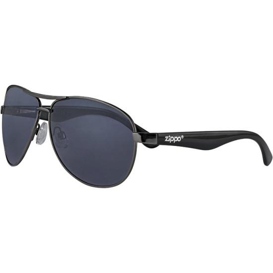 1819a2781922 Солнцезащитные очки ZIPPO OB56-01 чёрные
