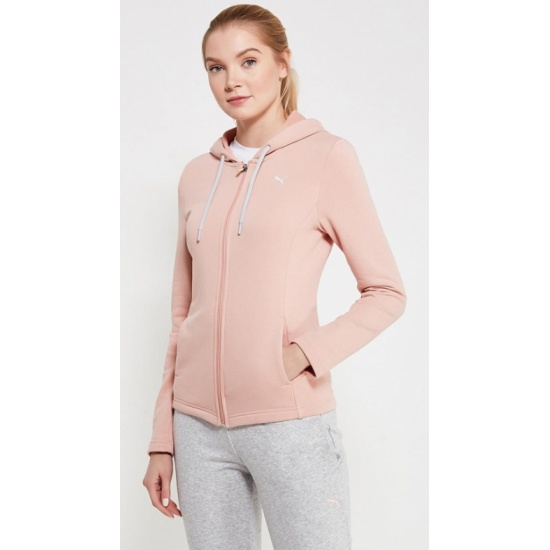 Спортивный костюм PUMA 85021731 Classic Sweat Suit женский, цвет  серый-розовый, размер 44-46 0f4fb3971ad