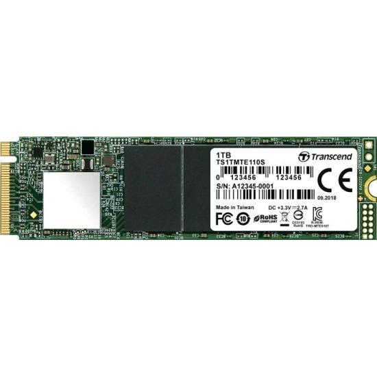 SSD диск TRANSCEND M.2 110S 1,0 Тб PCIe Gen3 x4 TLC 3D NAND TS1TMTE110S- низкая цена, доставка или самовывоз по Калуге. SSD диск Трансенд M.2 110S 1,0 Тб PCIe Gen3 x4 TLC 3D NAND TS1TMTE110S купить в интернет магазине ОНЛАЙН ТРЕЙД.РУ