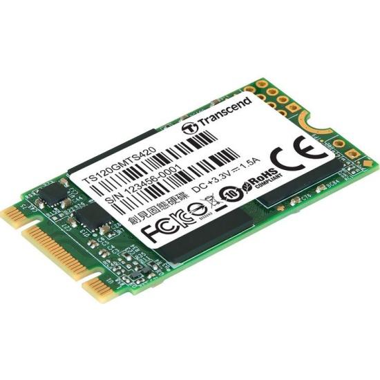 SSD диск TRANSCEND M.2 2242 MTS420 120 Гб SATA III TLC TS120GMTS420S оем — купить в интернет-магазине ОНЛАЙН ТРЕЙД.РУ