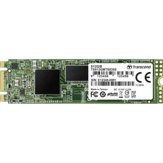 SSD диск TRANSCEND M.2 2280 830S 512 Гб SATA III 3D NAND (TS512GMTS830S)- купить по выгодной цене в интернет-магазине ОНЛАЙН ТРЕЙД.РУ Уфа