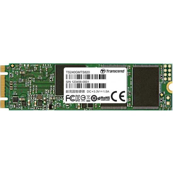SSD диск Transcend M.2 MTS820 240Gb SATA-III TLC (TS240GMTS820S)- купить по выгодной цене в интернет-магазине ОНЛАЙН ТРЕЙД.РУ Уфа
