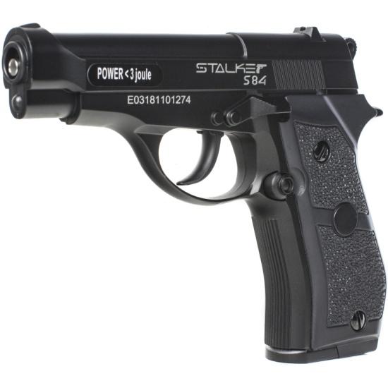 Пистолет пневматический STALKER S84 (аналог Beretta 84) 6900084110517 - купить по выгодной цене в интернет-магазине ОНЛАЙН ТРЕЙД.РУ Санкт-Петербург