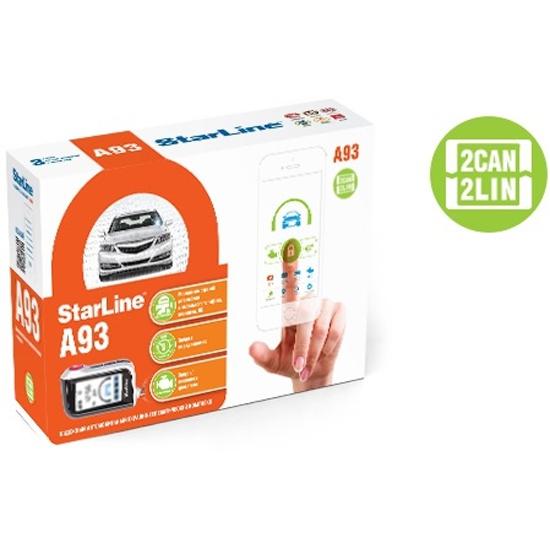 Автосигнализация STARLINE A93 2CAN-2LIN — купить в интернет-магазине ОНЛАЙН ТРЕЙД.РУ