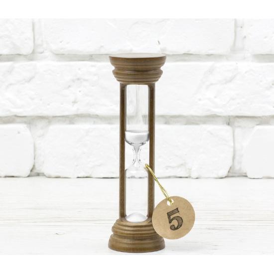Часы песочные СТЕКЛОПРИБОР на 5 мин. тип 4 исп.19 орех/белый — купить в интернет-магазине ОНЛАЙН ТРЕЙД.РУ