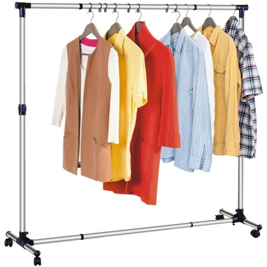 Стойка для одежды Tatkraft NEW YORK раздвижная в ширину и высоту, с усиленной базой 16095 - купить по выгодной цене в интернет-магазине ОНЛАЙН ТРЕЙД.РУ Тула