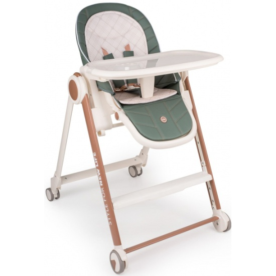 Стульчик для кормления Happy Baby BERNY V2 DARK GREEN — купить в интернет-магазине ОНЛАЙН ТРЕЙД.РУ