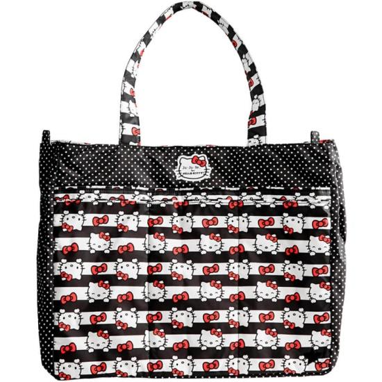Сумка для мамы Ju-Ju-Be Super Be Hello Kitty Dots   Stripes Изображение ... b162ba9c858