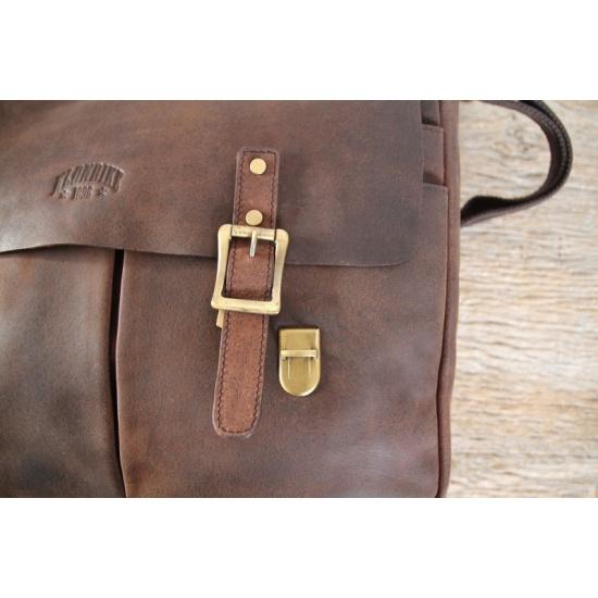 a7962a1dface Сумка мужская KLONDIKE Barry, темно-коричневый Изображение 3 - купить в  интернет магазине с