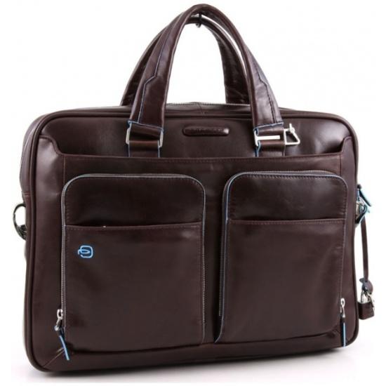 a2cf6a492866 Сумка мужская PIQUADRO Blue Square CA2849B2/MO, коричневый - купить в  интернет магазине с