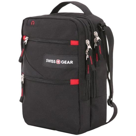 Мужская сумка через плечо SWISSGEAR SA18262166 черный — купить в интернет-магазине ОНЛАЙН ТРЕЙД.РУ