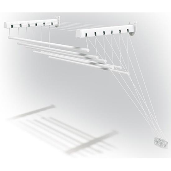 Сушилка для белья настенная GIMI Lift 160 460164 - купить по выгодной цене в интернет-магазине ОНЛАЙН ТРЕЙД.РУ Тула