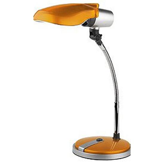 Светильник настольный ЭРА NE-301-E27-15W-OR оранжевый — купить в интернет-магазине ОНЛАЙН ТРЕЙД.РУ