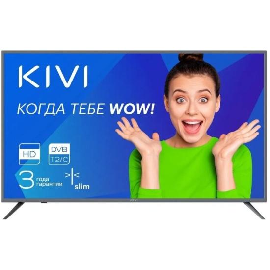 Телевизор KIVI 24H500GR, серый- купить по выгодной цене в интернет-магазине ОНЛАЙН ТРЕЙД.РУ Санкт-Петербург
