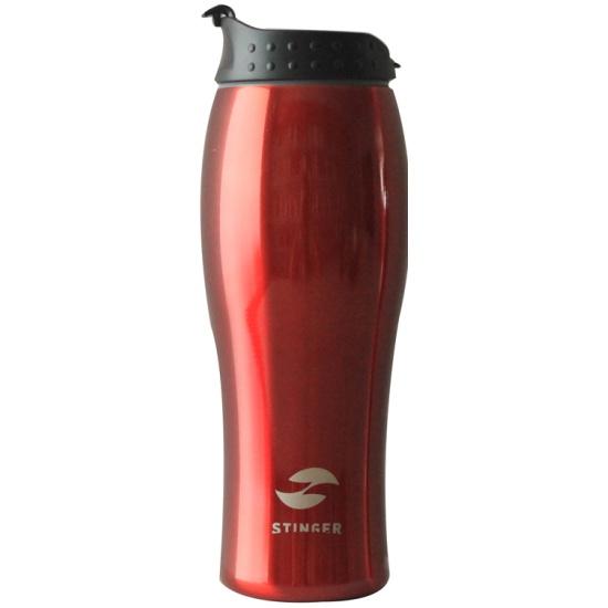 Термокружка Stinger, 0.4 л, красный глянцевый HY-VF122-R - купить по выгодной цене в интернет-магазине ОНЛАЙН ТРЕЙД.РУ Уфа