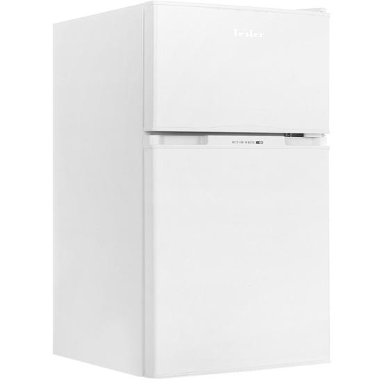 Холодильник Tesler RCT-100 белый - купить с доставкой по России, цены, описание, характеристики, отзывы.