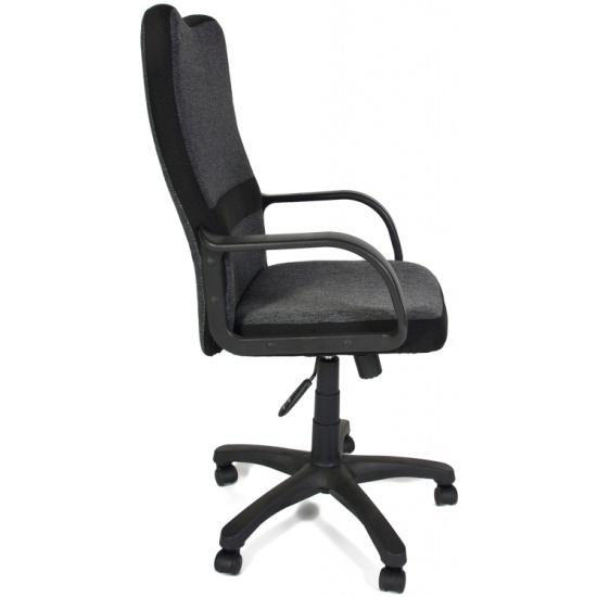 Кресло Tetchair СН757 ткань, серый/чёрный, 207/2603 id8255 - купить по выгодной цене в интернет-магазине ОНЛАЙН ТРЕЙД.РУ Уфа
