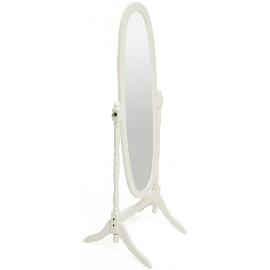 Зеркало NY-4001, дерево, 59х49,5х150см, white (белый) 12600WH id10601 - купить по выгодной цене в интернет-магазине ОНЛАЙН ТРЕЙД.РУ Уфа