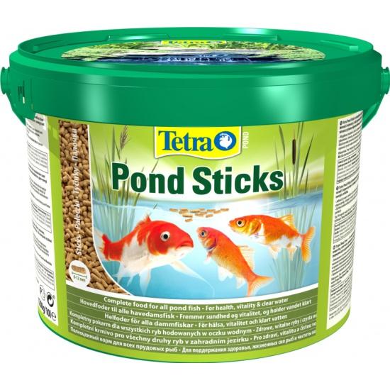Корм для прудовых рыб Tetra Pond Sticks 10 литров — купить в интернет-магазине ОНЛАЙН ТРЕЙД.РУ