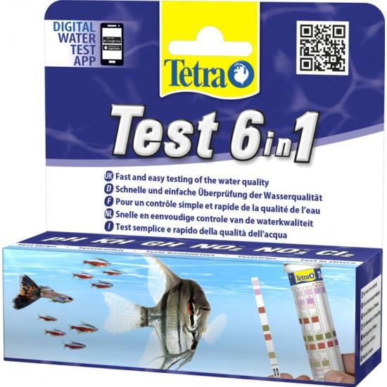 Тест Tetra Test 6in1 — купить в интернет-магазине ОНЛАЙН ТРЕЙД.РУ