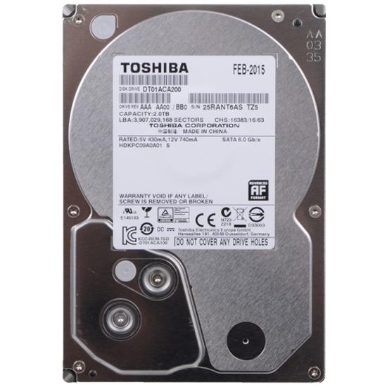 Жесткий диск Toshiba 3.5  2.0 Tb SATA III 64 Mb 7200 rpm DT01ACA200- купить по выгодной цене в интернет-магазине ОНЛАЙН ТРЕЙД.РУ Тула