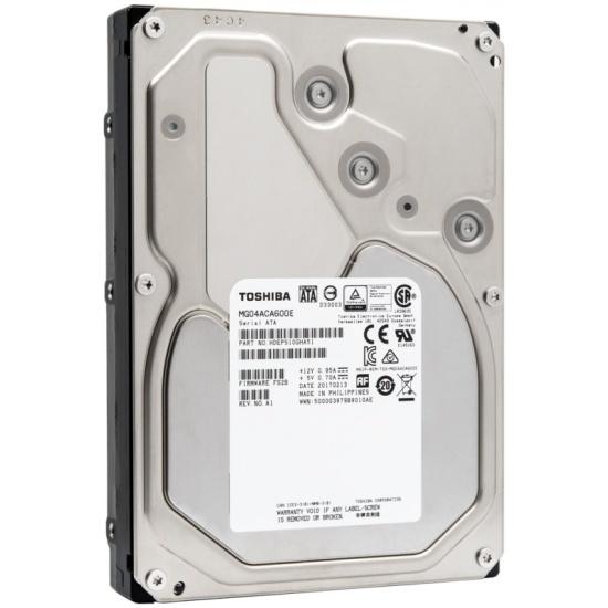Жесткий диск Toshiba 3.5 Enterprise 6.0 Tb SATA III 128 Mb 7200 rpm MG04ACA600E — купить в интернет-магазине ОНЛАЙН ТРЕЙД.РУ