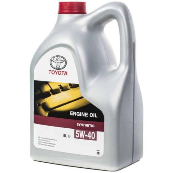 Моторное масло TOYOTA Engine Oil 5W-40 5 л 08880-80375-GO - низкая цена, доставка или самовывоз по Калуге. Моторное масло TOYOTA Engine Oil 5W-40 5 л купить в интернет магазине ОНЛАЙН ТРЕЙД.РУ