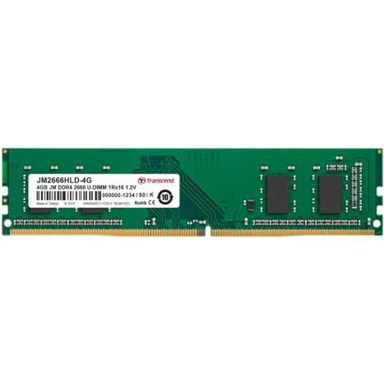 Оперативная память Transcend DDR4 4Gb 2666MHz pc-21300 (JM2666HLD-4G) — купить в интернет-магазине ОНЛАЙН ТРЕЙД.РУ