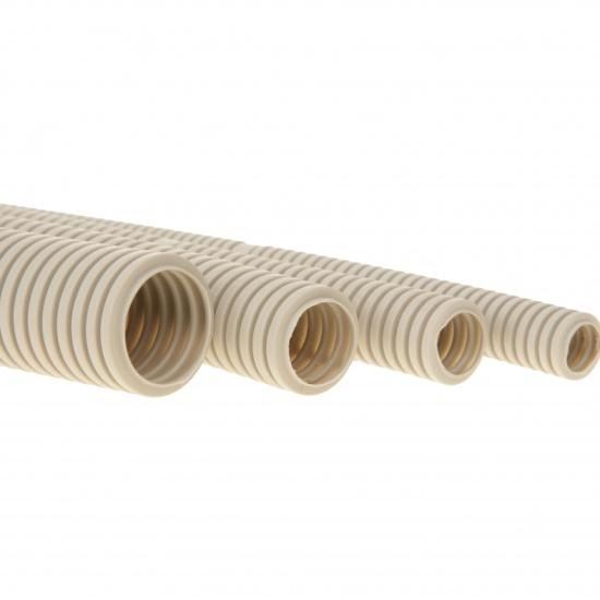 Труба гофрированная PROCONNECT из ПВХ с зондом 20 мм (бухта 100 м/уп.) — купить в интернет-магазине ОНЛАЙН ТРЕЙД.РУ