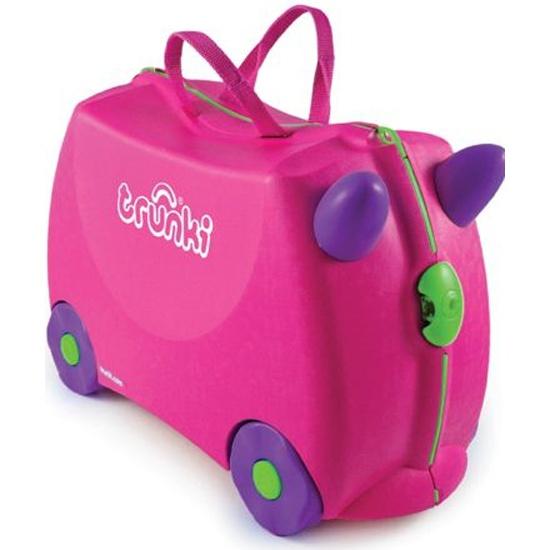 3f812cdc0ee3 Чемодан на колесиках TRUNKI Розовый Изображение 1 - купить в интернет  магазине с доставкой, ...